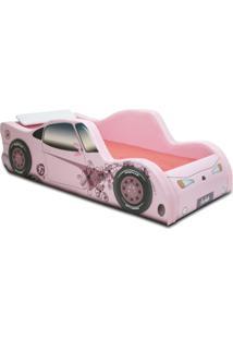 Cama Carro Street Girl Rosa