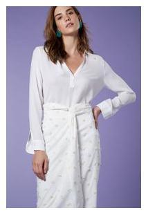 Camisa Polo Ml Branco