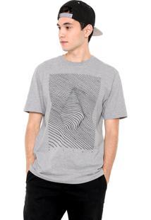Camiseta Volcom Troppographical Cinza