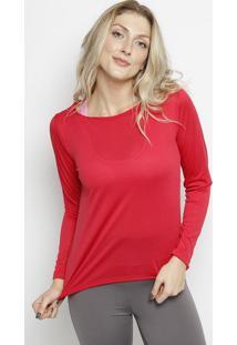Blusa Com Capuz & Microfuros - Vermelha - Patrapatra