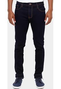 Calça Jeans Skinny Coca-Cola Pesponto Masculina - Masculino