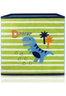 Caixa Organizadora Infantil Jacki Design Feminina - Feminino-Azul