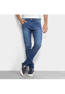 Calça Jeans Skinny Rock & Soda Masculina - Masculino