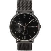 4ad5d922ff5 Relógio Tommy Hilfiger Masculino Aço Preto - 1791507