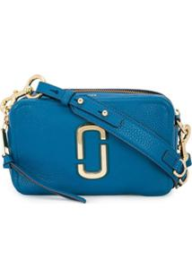 Marc Jacobs Bolsa Tiracolo The Softshot 21 - Azul