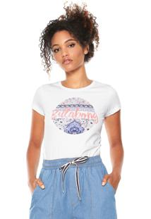 Camiseta Billabong Girls Gipsy Girl Branca