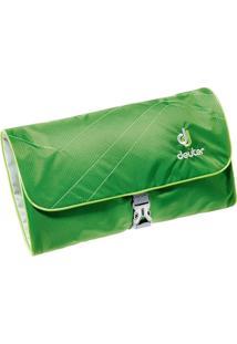 Necessaire Wash Bag Ii Verde Para Viagem Com Espelho Removível - Deuter 707020