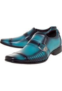 Sapato Rafarillo Fivela Azul