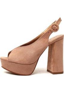 Sandália Damannu Shoes Beatriz Feminina - Feminino-Nude