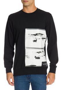 Casaco Ckj Masc Ml Andy Warhol Landscape - Preto - P