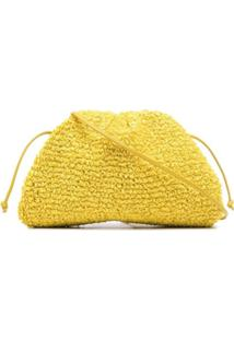 Bottega Veneta Clutch The Pouch - Amarelo