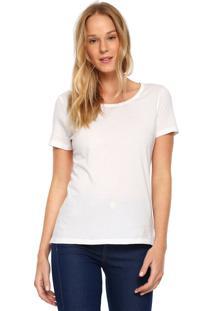 Camiseta Ellus Cascata Chain Branca - Kanui