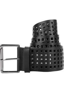 Cinto Couro Shoestock Lasercut Feminino - Feminino