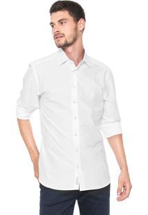 Camisa Dudalina Reta Básica Branca