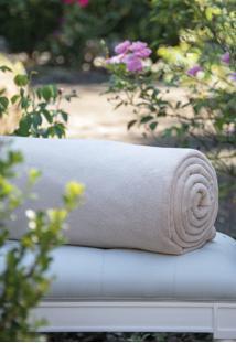 Cobertor Microfibra Caqui - Scavone - Bege - Dafiti