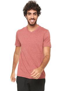 Camiseta Hering Mescla Laranja