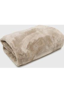 Cobertor Casal Kacyumara Blanket High Fend - Bege - Dafiti