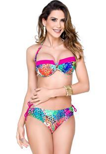 ... Biquini Tomara Que Caia Com Contraste Maré Brasil Pink 5a4ec67b0a2