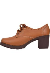 b7f5d2427 Sapato Caramelo Salto Alto feminino