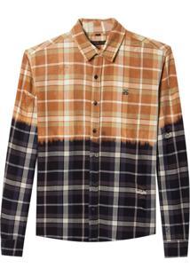 Camisa John John Terry Algodão Xadrez Masculina (Xadrez, M)