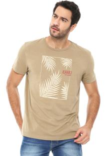 Camiseta Richards Silkada Bege