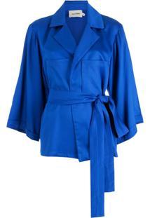 Neriage Blazer Niassa Com Amarração - Azul