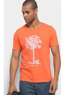 Camiseta Jab Árvore Masculina - Masculino-Laranja