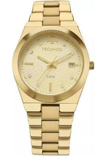 Relógio Feminino Technos 2115Kzr/4X - Feminino-Dourado
