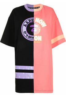 Aape By *A Bathing Ape® Vestido Color Block - Colorido