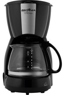 Cafeteira Inox Preta Britânia 127V Cp30
