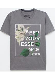 Camiseta Keep Your Essence