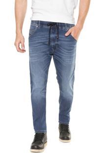 Calça Jeans Diesel Slim Krooley Azul