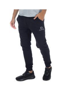 Calça De Moletom Calvin Klein Básica - Masculina - Preto
