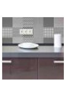 Papel De Parede Autocolante Rolo 0,58 X 5M - Azulejo Abstrato 284684471