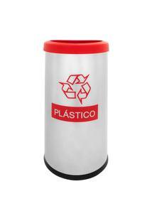 Lixeira Seletiva Recycling Plástico 40,5 L - Brinox