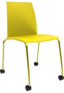 Cadeira Loft Office Amarela