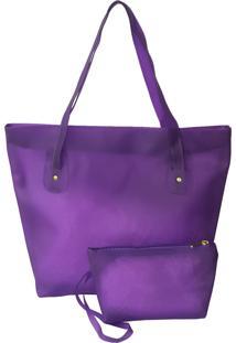 Bolsa Bag Dreams De Praia Impermeável Roxa
