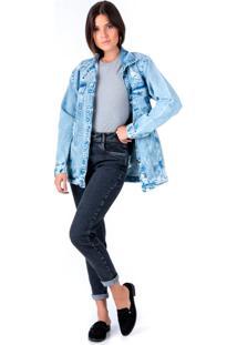 Jaqueta Oversized Pkd Jeans - Tricae