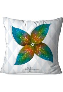 Capa De Almofada Avulsa Decorativa Mia Amata Filo All Leafman 35X35Cm - Multicolorido - Dafiti