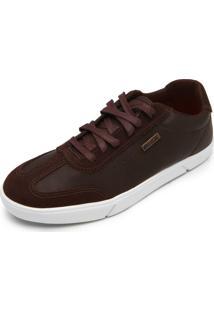 Sapatênis Coca Cola Shoes Bryce Marrom