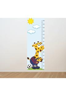 Adesivo Régua De Crescimento Girafa Barcelona (0,50M X 1,50M)
