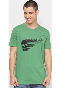 Camiseta Ellus Caveira Halloween Herchcovitch Masculina - Masculino