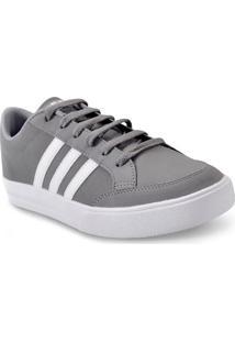 Tenis Masc Adidas Bb9672 Vs Set Cinza/Branco