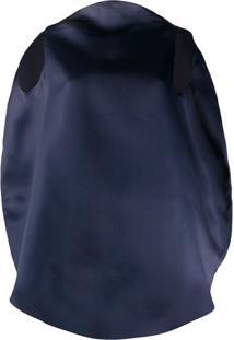 Nina Ricci Blusa Oversized Sem Mangas - Azul