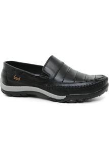 Sapato Tertuliano Mocassim 065 Masculino Preto