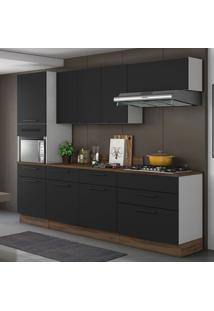 Cozinha Compacta Exclusive 8 Pt 5 Gv Preta