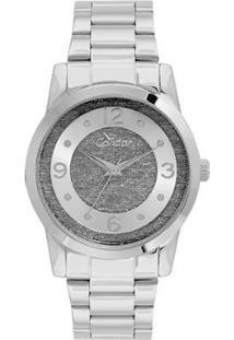 Relógio Condor Feminino Glitter - Co2039Ap/3C Co2039Ap/3C - Feminino-Prata