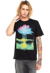 Camiseta Quiksilver Tree Preta