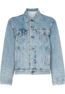 063c9f818e Jaqueta Jeans Tresse feminina