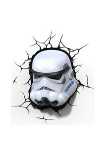 Luminária De Parede - 3D - Disney - Star Wars - Episódio Vii - Stormtrooper - Beek Geeks